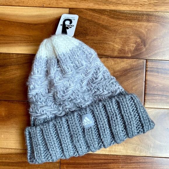 Adidas Women's Aeroready Knit HAT Beanie NWT
